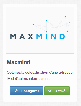 Maxmind account