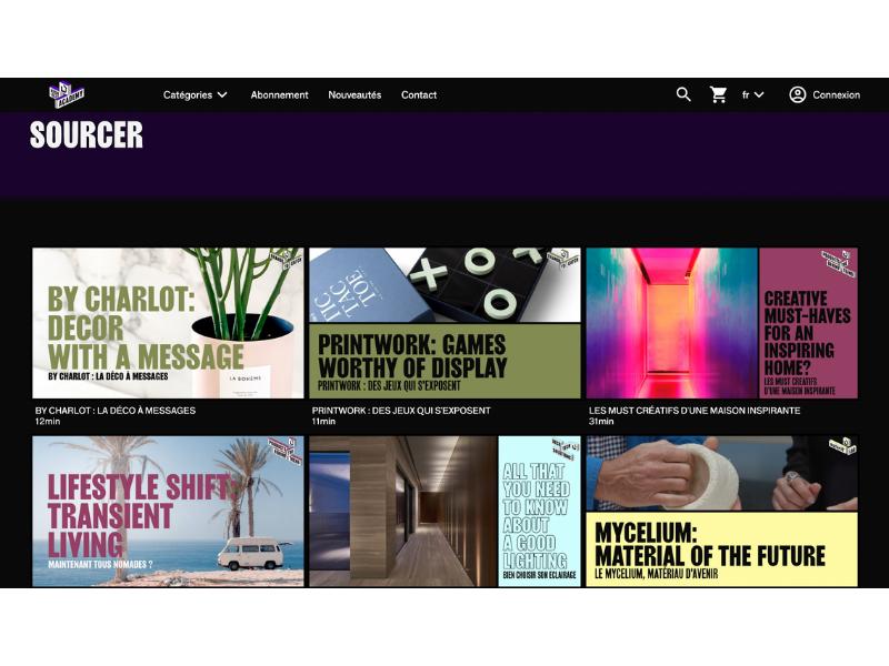 Le salon Maison&Objet fait appel à Kinow pour proposer un service de streaming à sa communauté professionnelle !